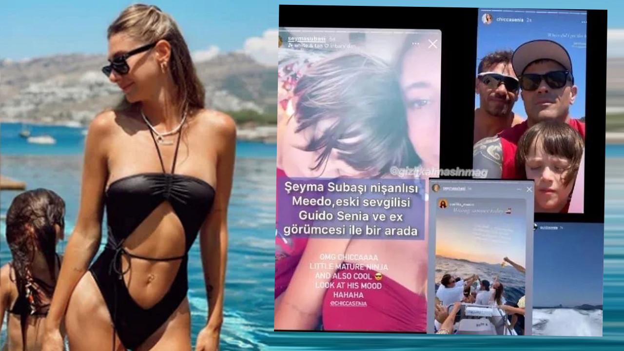 Olay iddia: ''Şeyma Subaşı hem eski hem de yeni sevgilisiyle tatilde''