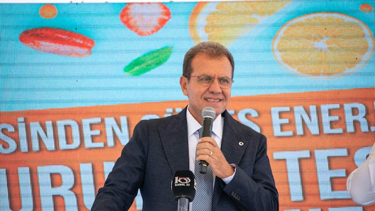 Mersin'de güneş enerjisi ile kurutma tesisi açıldı
