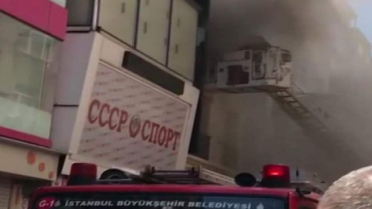 İstanbul'da otelde korkutan yangın