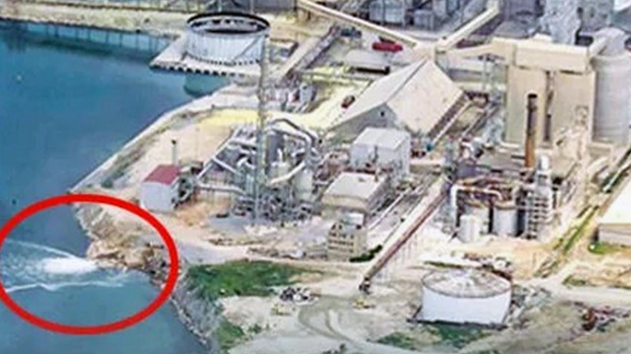 Marmara Denizi'ne ''ihanet'' kamerada! Valilik açıklama yaptı