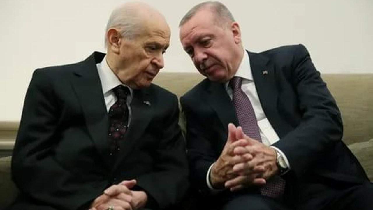 Bir anketten daha Erdoğan ve Bahçeli'ye kötü haber