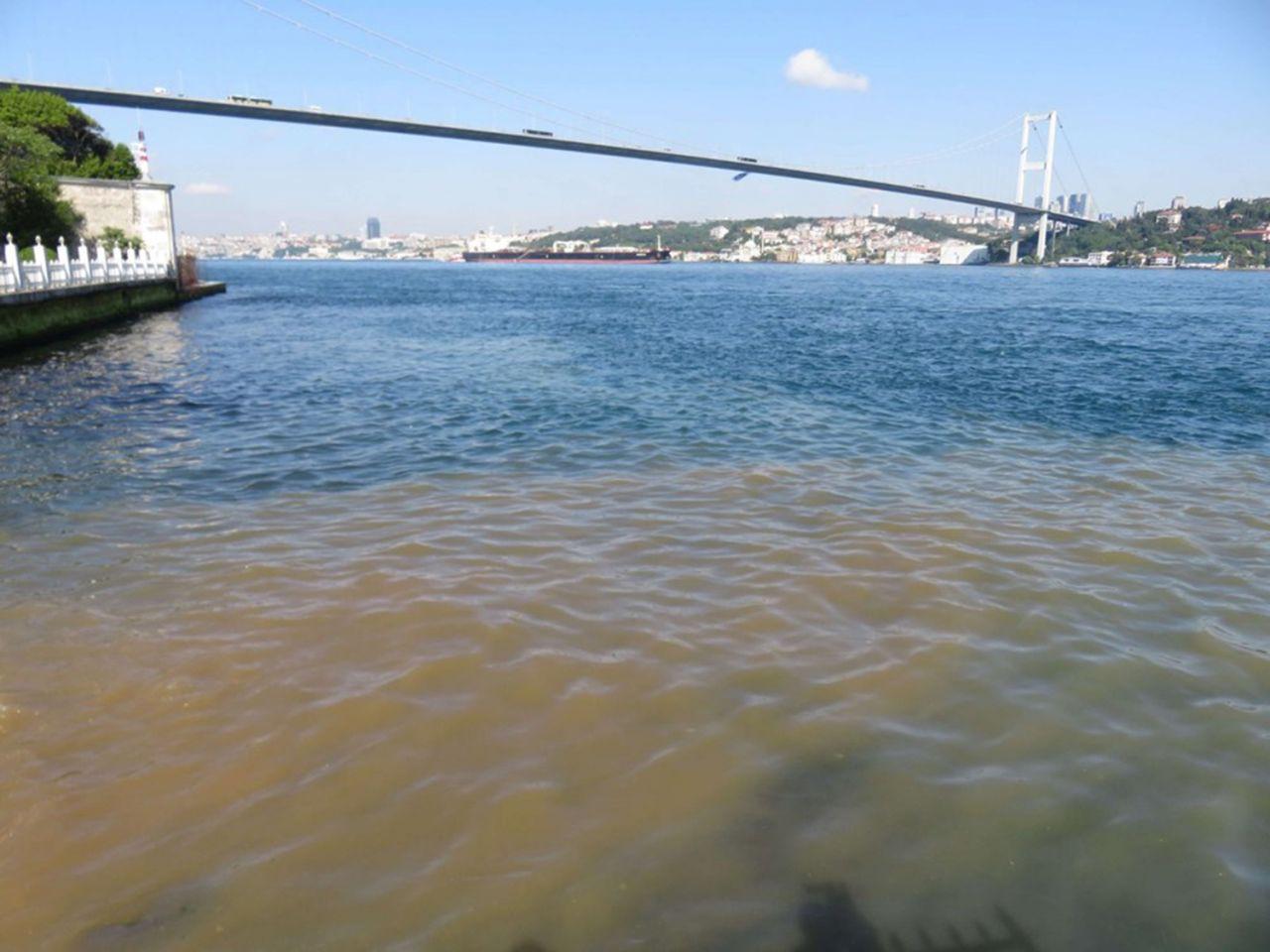 Bu sefer müsilaj değil: İstanbul Boğazı'nın rengi değişti - Resim: 4