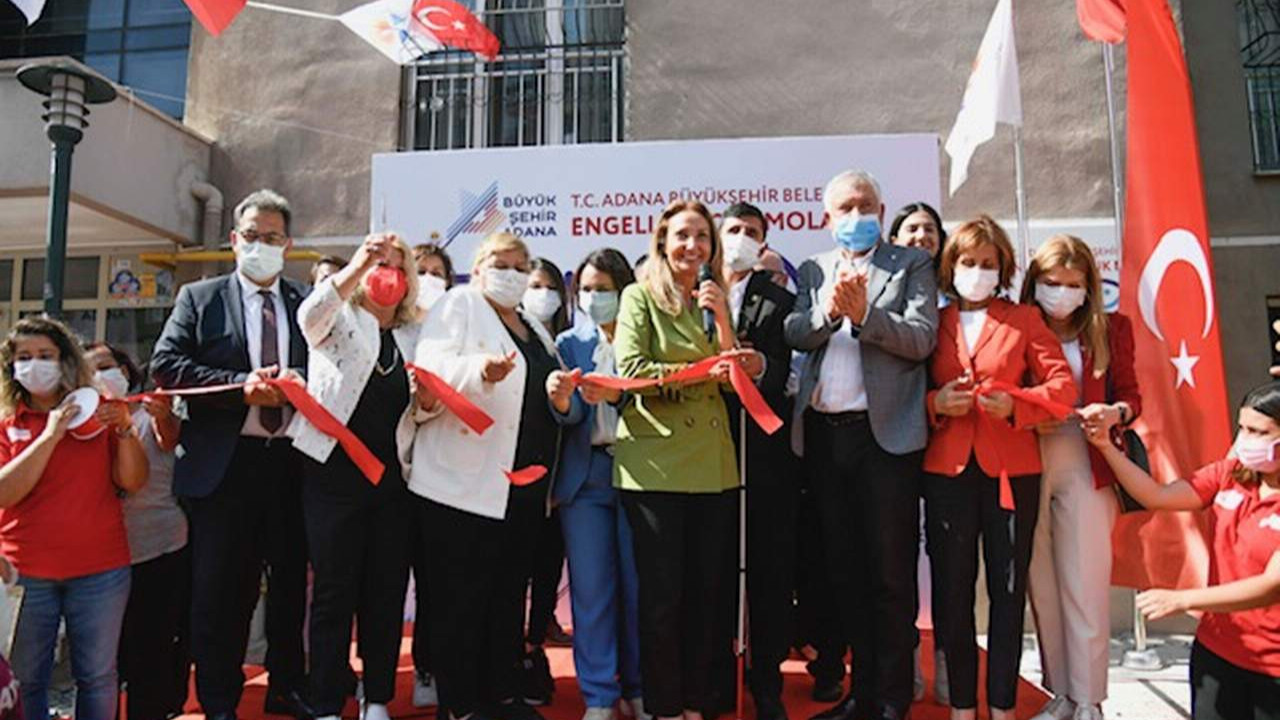 Adana Büyükşehir Belediyesi Engelli Çocuk Mola Evi açıldı