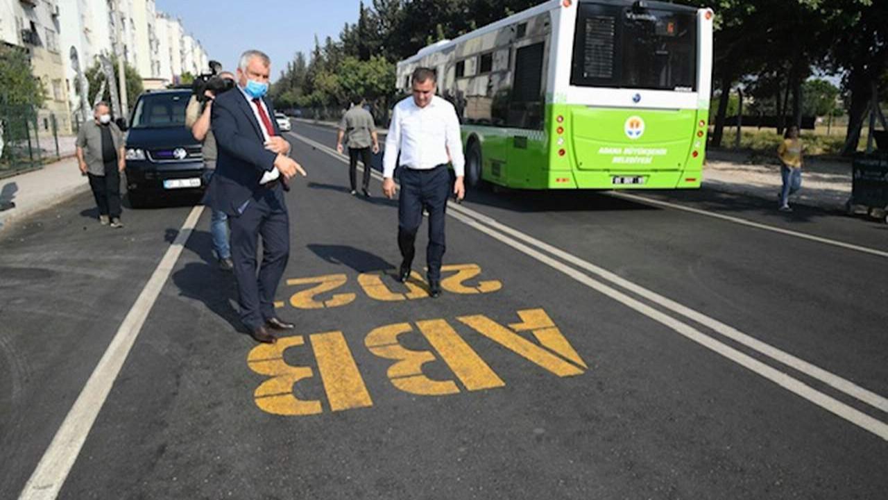Adana'nın yolları asfaltlanıyor