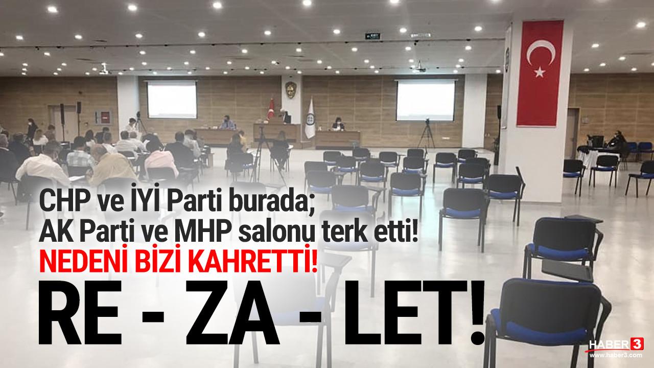 AK Parti ve MHP'liler el ele ayıp etti! Rezalet!