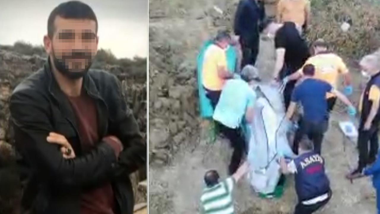 4 ay sonra cesedi toprağa gömülü olarak bulundu