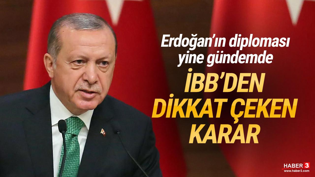 İBB, ''Erdoğan'ın diplomasını yayınlayın'' başvurusunu reddetti