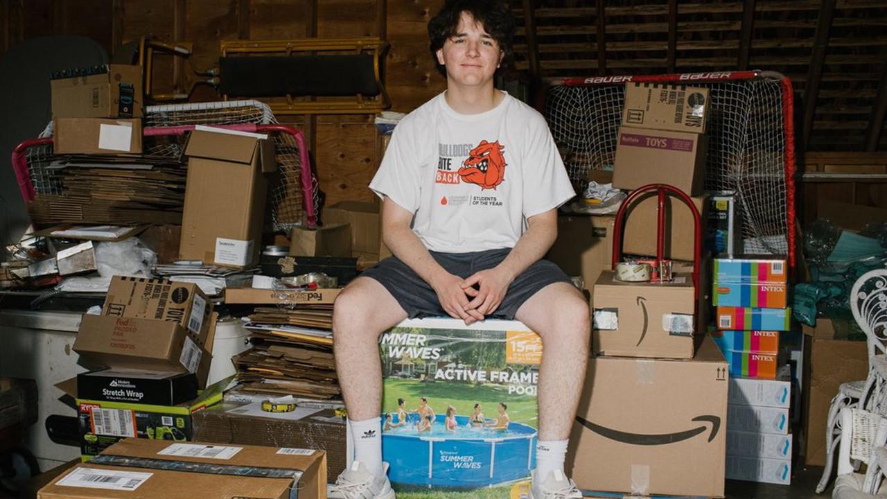 Krizi fırsata çevirdi... 16 yaşında, 1,7 milyon dolarlık gelir elde etti