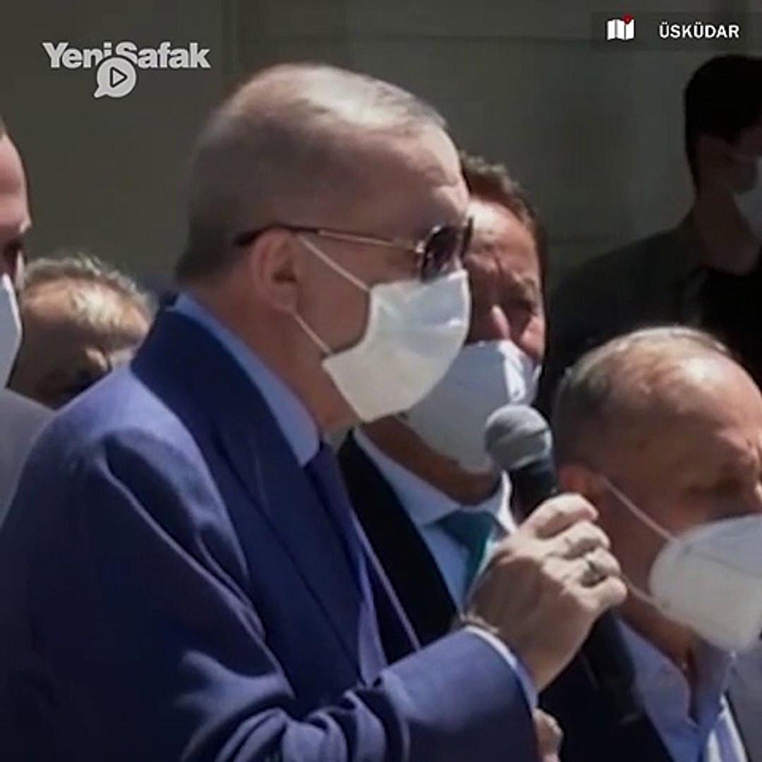 Erdoğan'dan ''haklarımız verilmiyor'' diyen vatandaşlara: ''Oturma eylemi yapın''