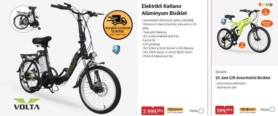 BİM'den elektrikli katlanır bisiklet sürprizi! İşte BİM 11 Haziran Cuma Aktüel ürünler kataloğu - Resim: 1