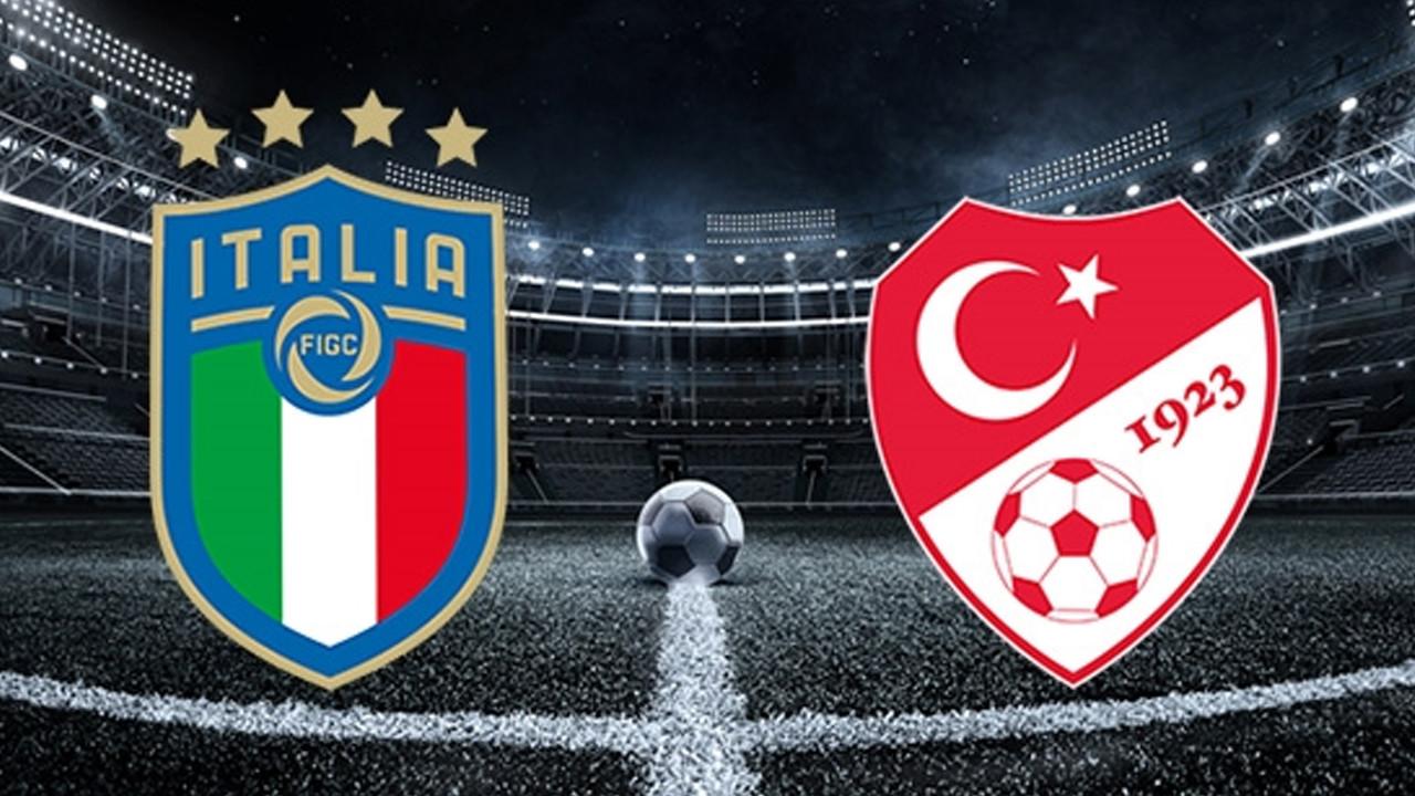 Türkiye-İtalya maçının 11'leri belli oldu