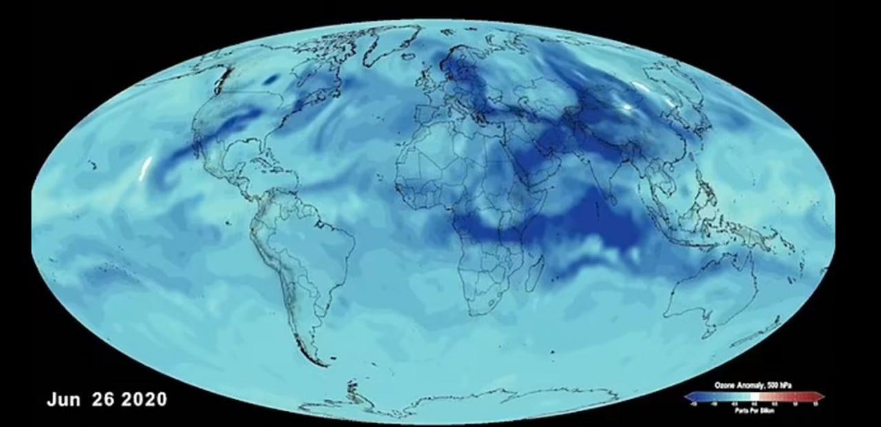 NASA,  karantinaların hava kirliliğine etkisini açıkladı - Resim: 1
