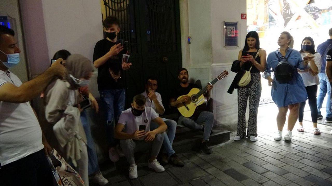 İstanbul'da ''korona virüs salgını bitti de bizim mi haberimiz yok'' dedirten görüntüler - Resim: 3