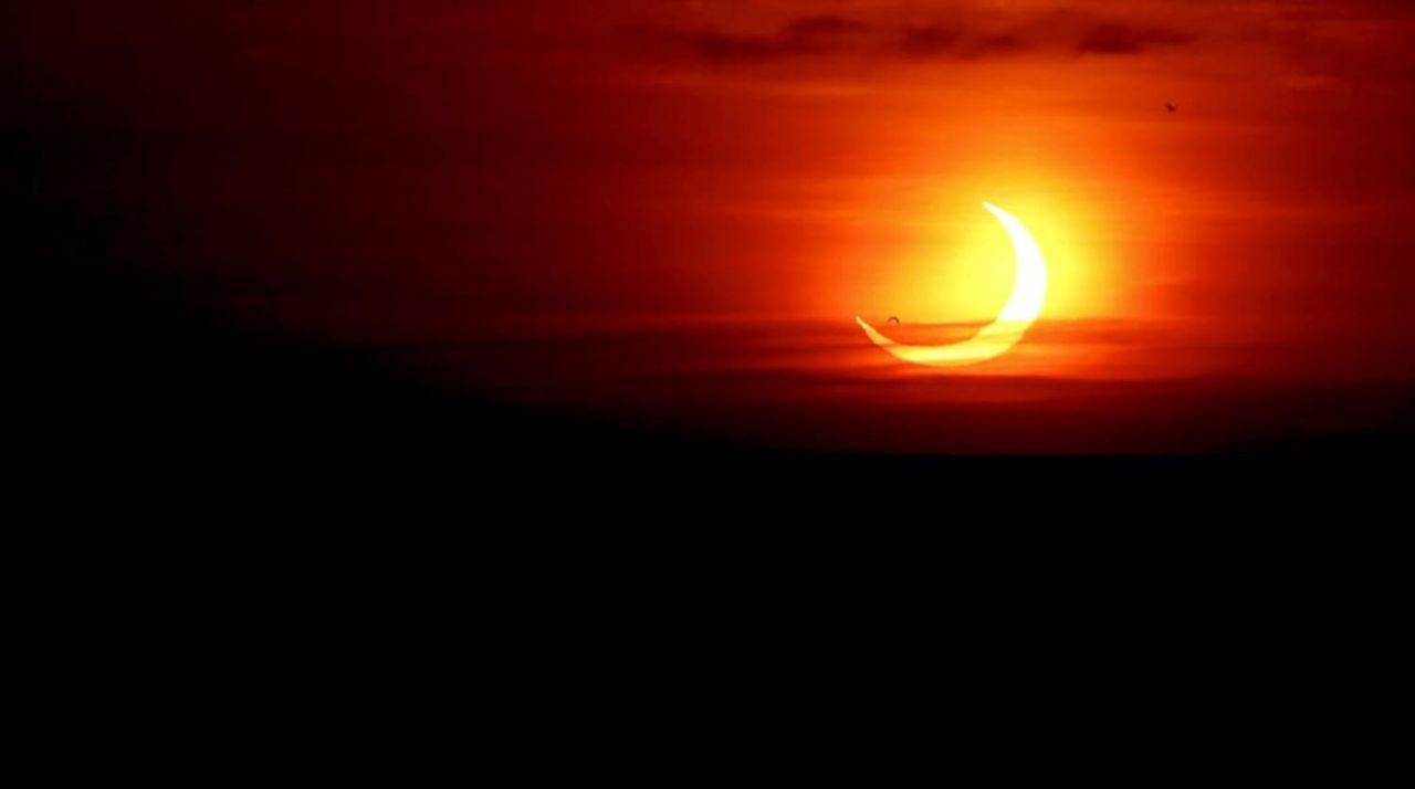 Ateş Çemberi Güneş Tutulması gerçekleşti - Resim: 2