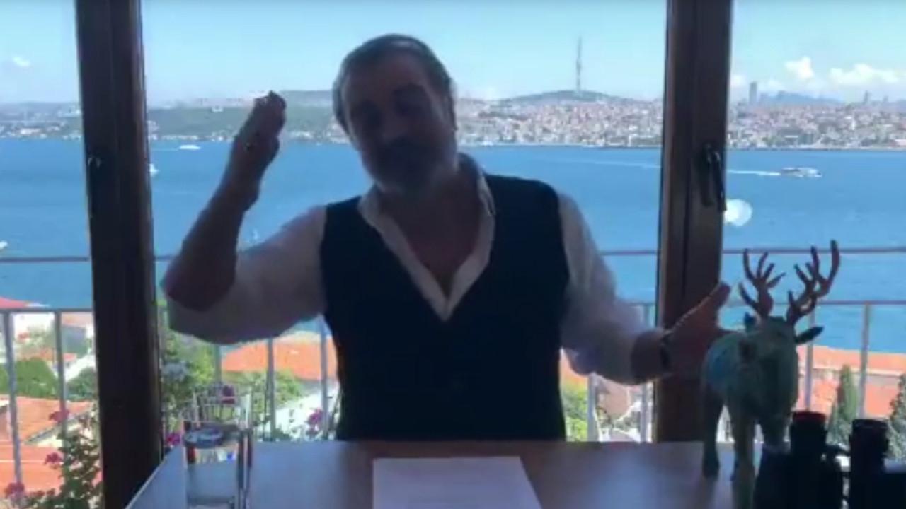 Sermiyan Midyat'tan ''Sedat Peker'' temalı Kanal İstanbul videosu olay oldu