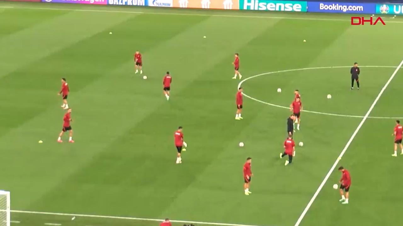 A Milliler, İtalya maçına hazır