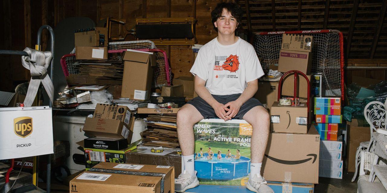 Krizi fırsata çevirdi... 16 yaşında, 1,7 milyon dolarlık gelir elde etti - Resim: 1