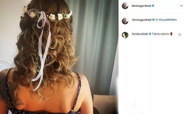 Ünlü oyuncu Deniz Uğur ve Erdinç Gülener evlendi - Resim: 2