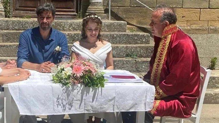 Ünlü oyuncu Deniz Uğur ve Erdinç Gülener evlendi - Resim: 3