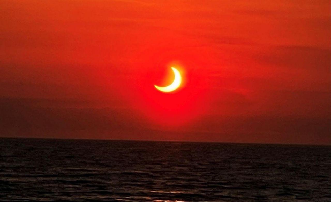 Ateş Çemberi Güneş Tutulması gerçekleşti - Resim: 3