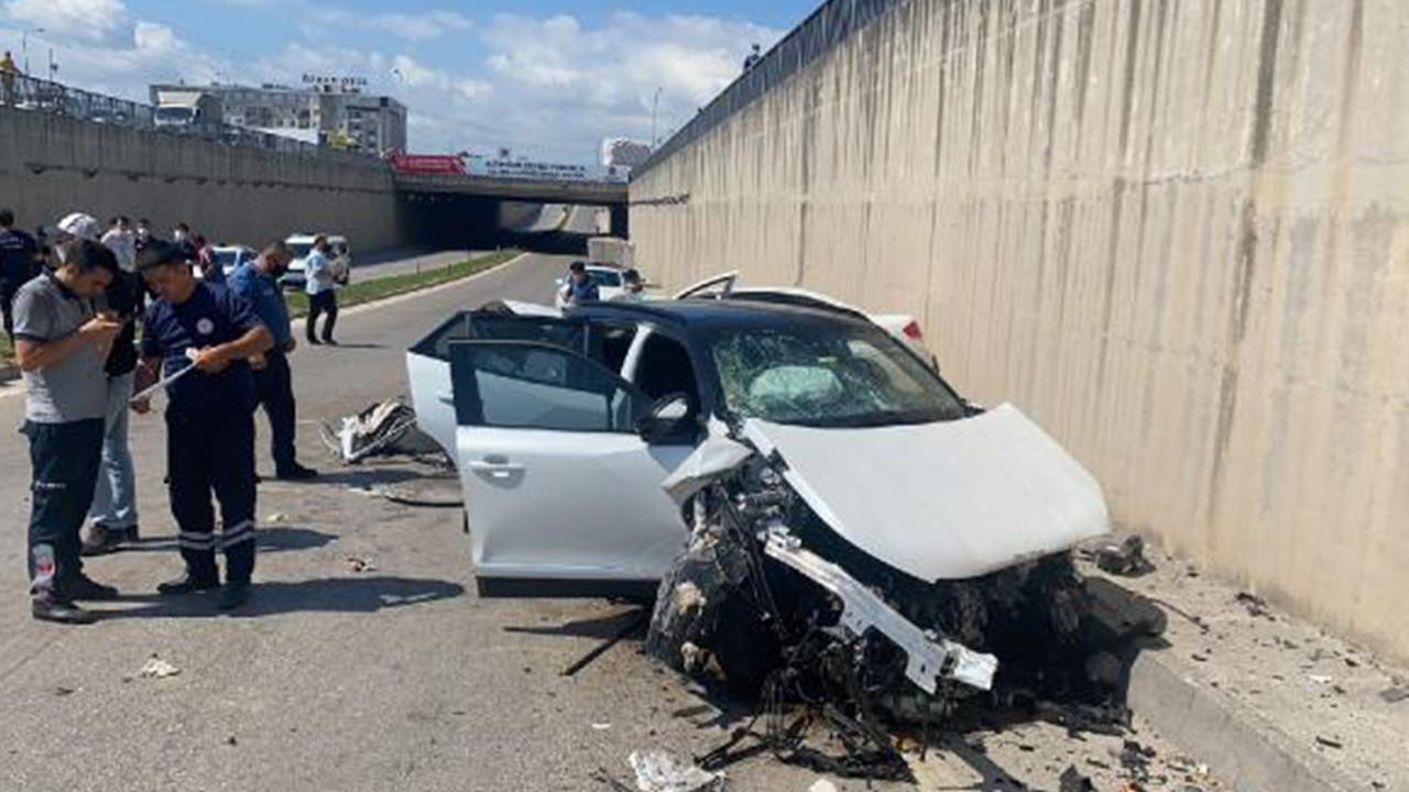 Hatay'da feci kaza: 4 ölü, 3 yaralı
