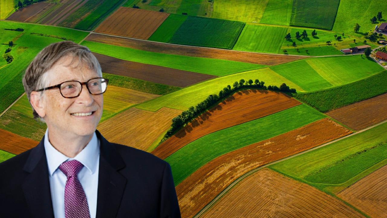 Toprak ağası Bill Gates'in dev şirketle bağlantısı ortaya çıktı