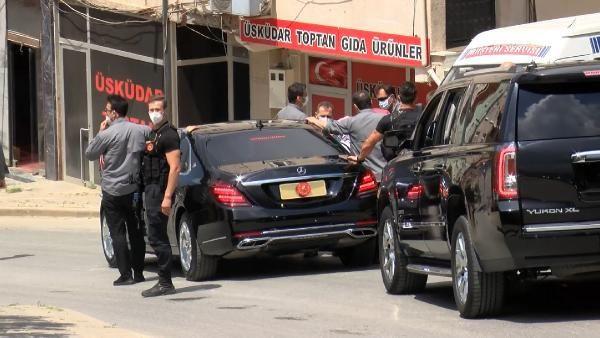 Erdoğan'ın konvoyu bir türlü ilerleyemedi... Defalarca durdurup teşekkür ettiler - Resim: 1