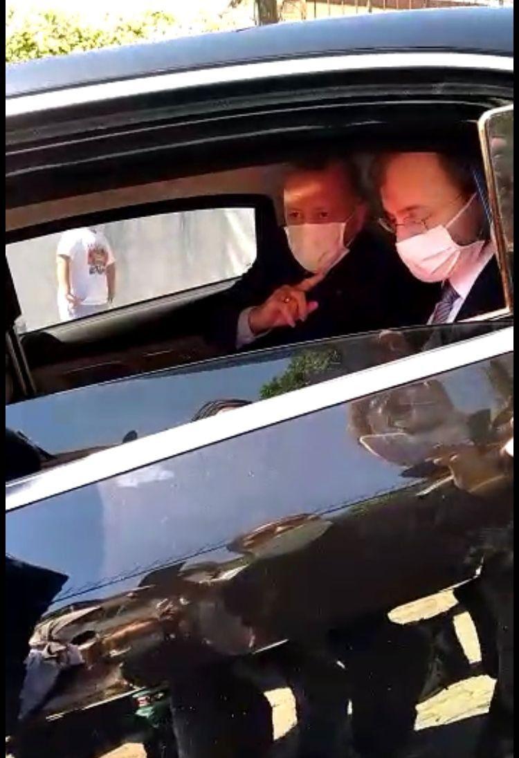 Erdoğan'ın konvoyu bir türlü ilerleyemedi... Defalarca durdurup teşekkür ettiler - Resim: 4