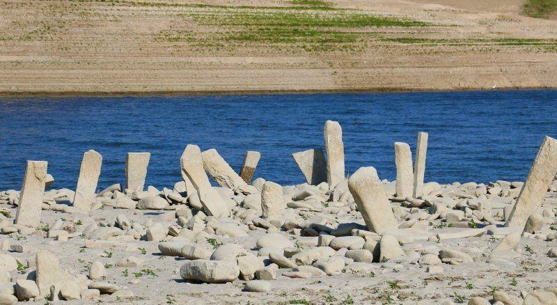 Baraj suları çekilince ortaya çıktı - Resim: 1