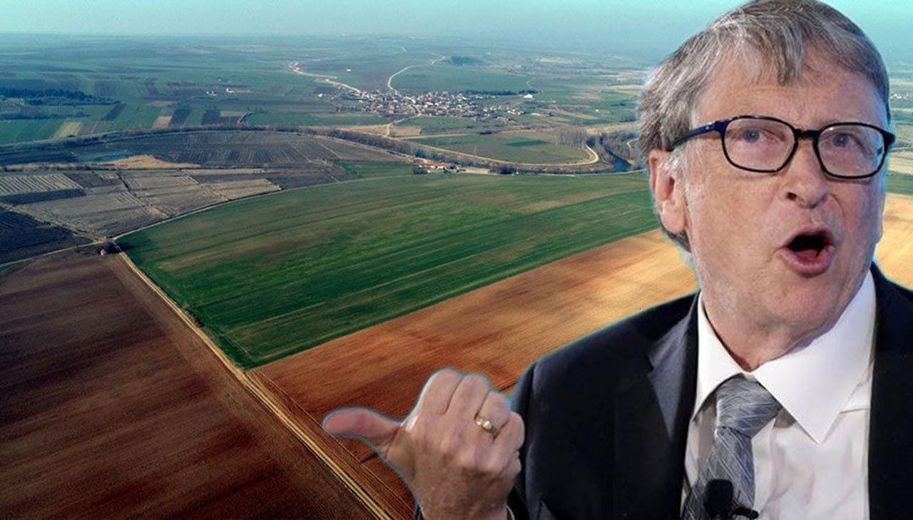Toprak ağası Bill Gates'in dev şirketle bağlantısı ortaya çıktı - Resim: 1