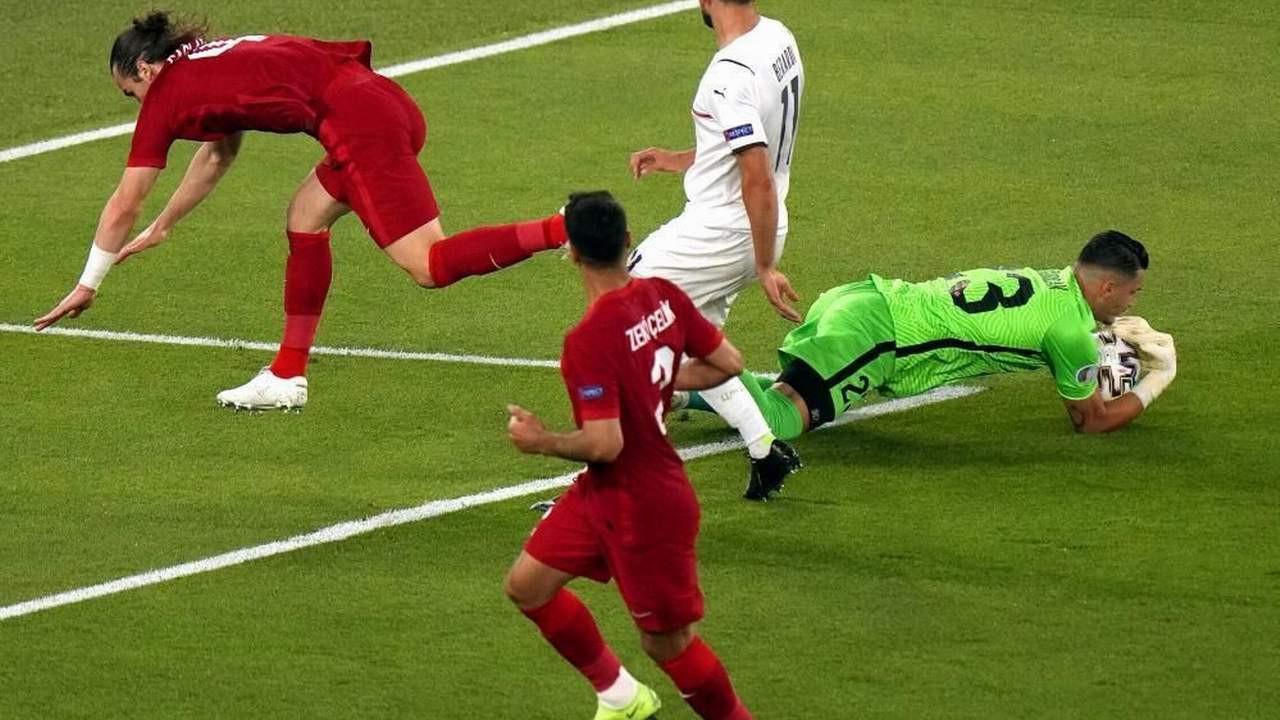 Türkiye - İtalya maçı dış basında