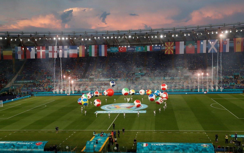 EURO 2020 Türkiye-İtalya karşılaşmasında dikkat çeken an...