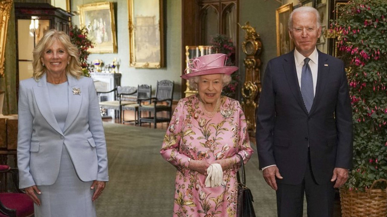 Biden: ''Kraliçe Elizabeth bana annemi hatırlattı''