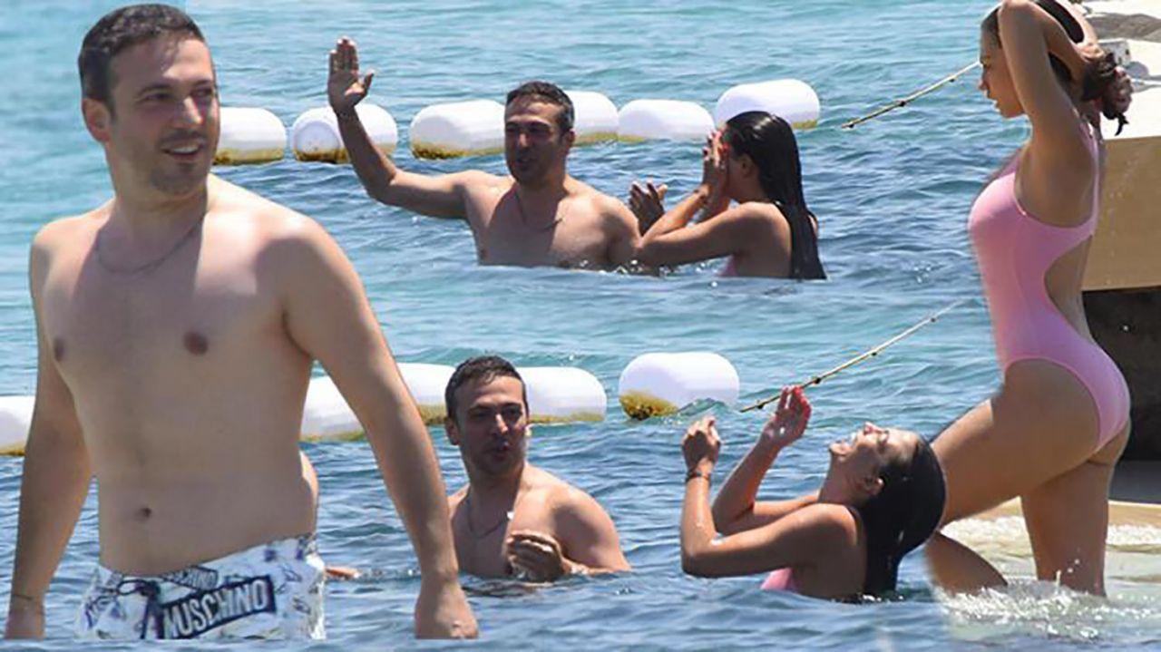 Demet Özdemir-Oğuzhan Koç çiftinin tatil keyfi devam ediyor - Resim: 1