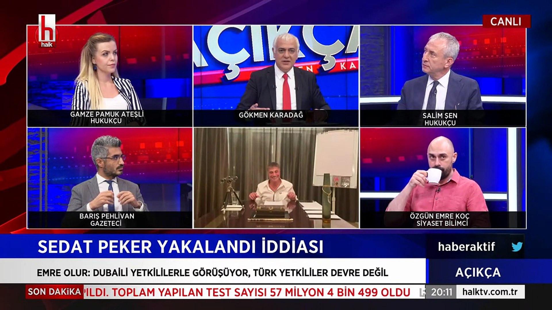 Canlı yayında Sedat Peker ile ilgili dikkat çeken iddialar