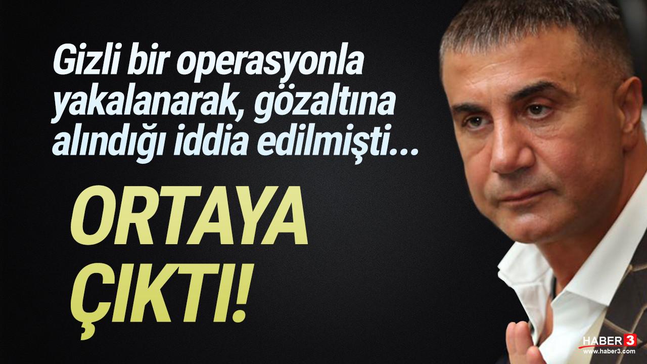 Yakalandığı iddia edilmişti; Sedat Peker ortaya çıktı