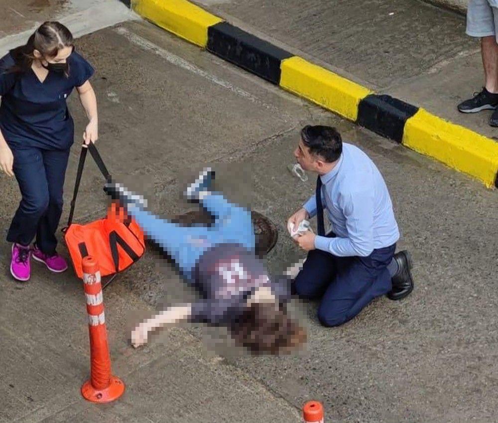Veda mesajı paylaşıp AVM terasından ölüme atladı - Resim: 1