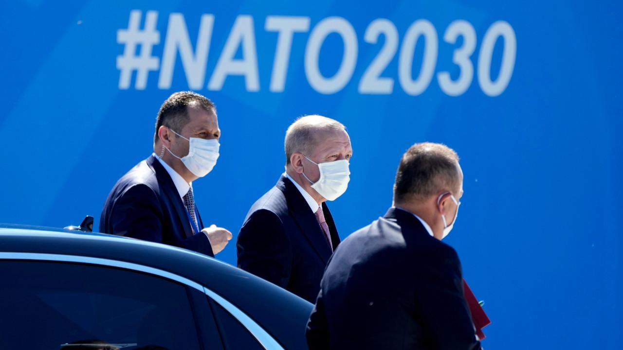 Erdoğan NATO karargahında: Kritik görüşme başladı