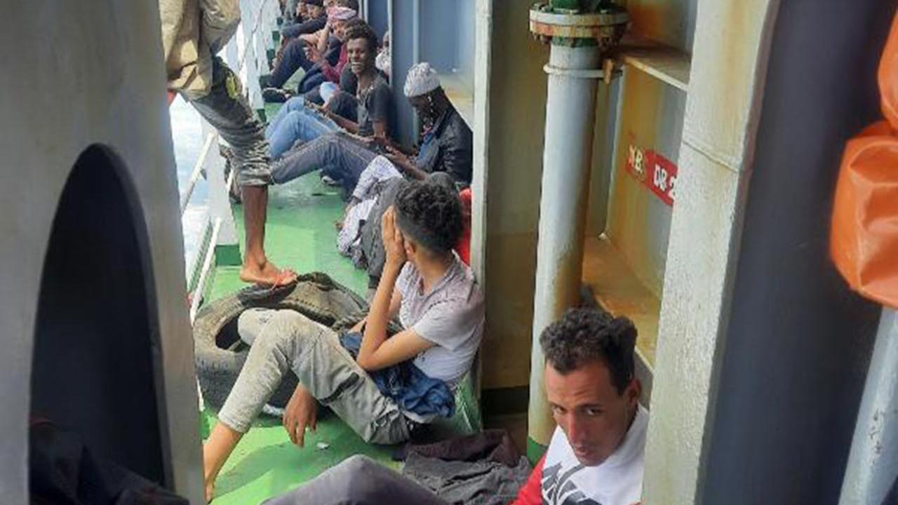Kahraman Türk kaptan 97 kaçak göçmeni böyle kurtardı