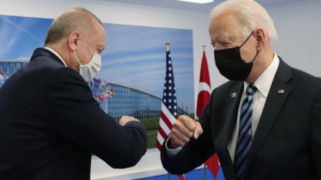 Cumhurbaşkanı Erdoğan, Biden ile görüştü