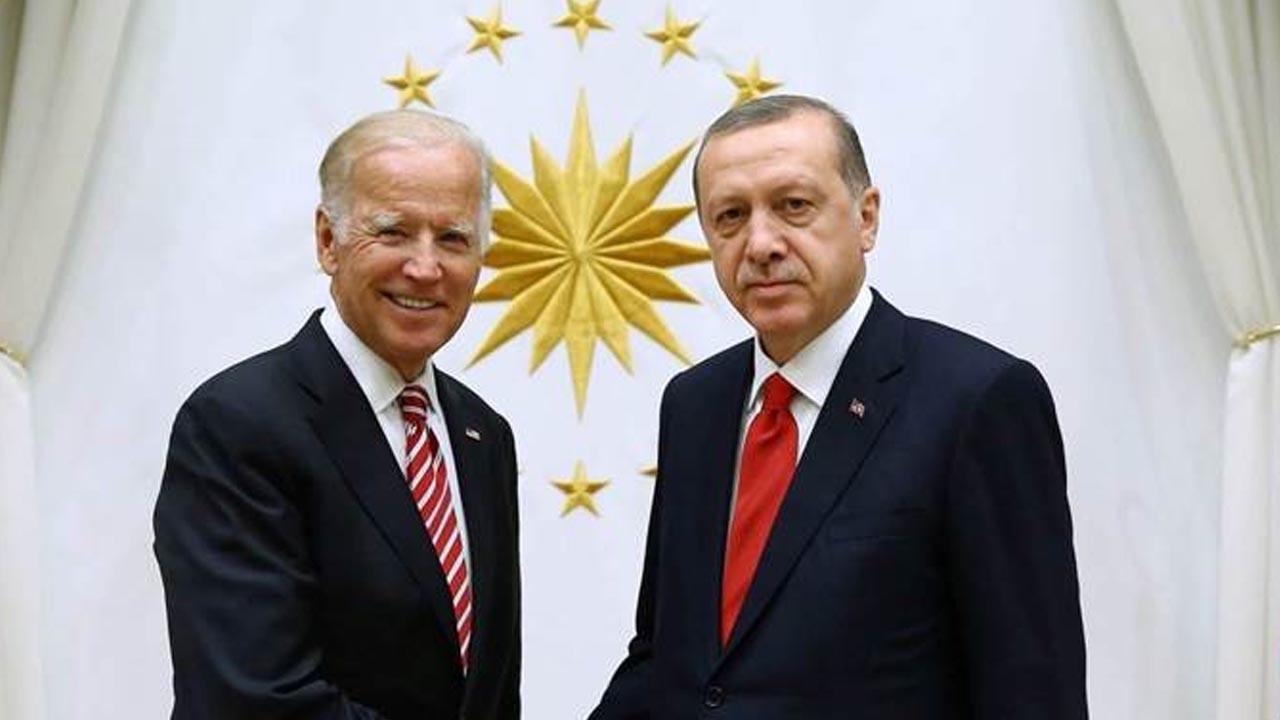 Cumhurbaşkanı Erdoğan ile Biden arasında kritik görüşme başladı