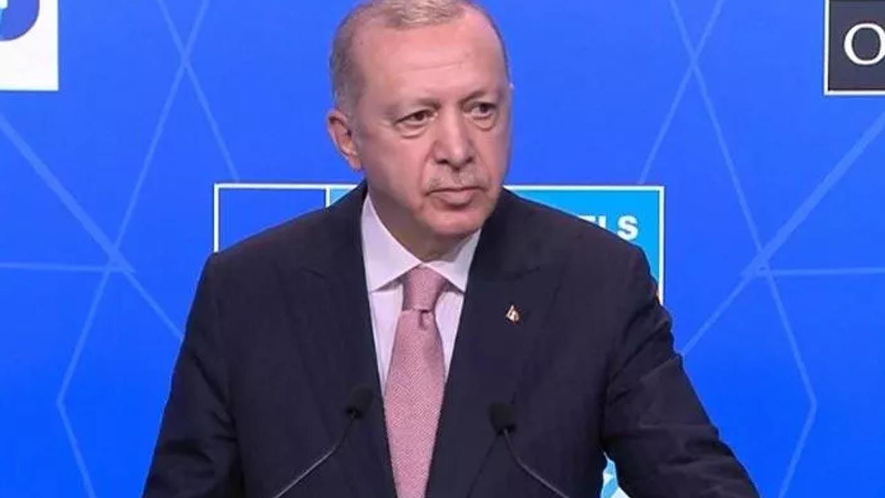 Cumhurbaşkanı Erdoğan, Biden görüşmesi sonrası açıklama yapıyor - CANLI