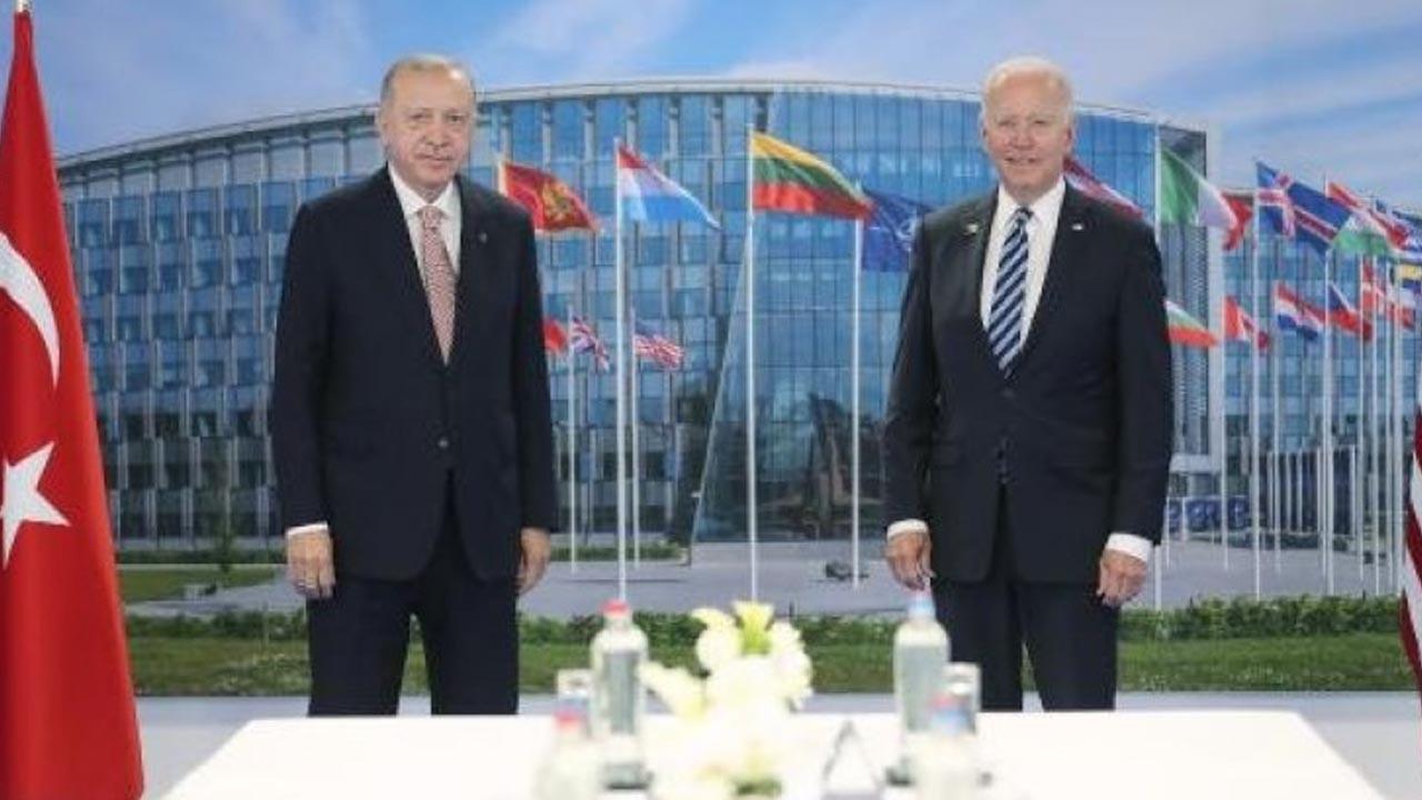 Joe Biden'dan Erdoğan görüşmesi sonrası ilk açıklama