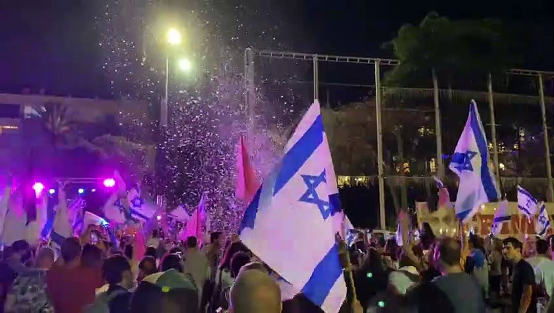 İsrailliler sokağa döküldü