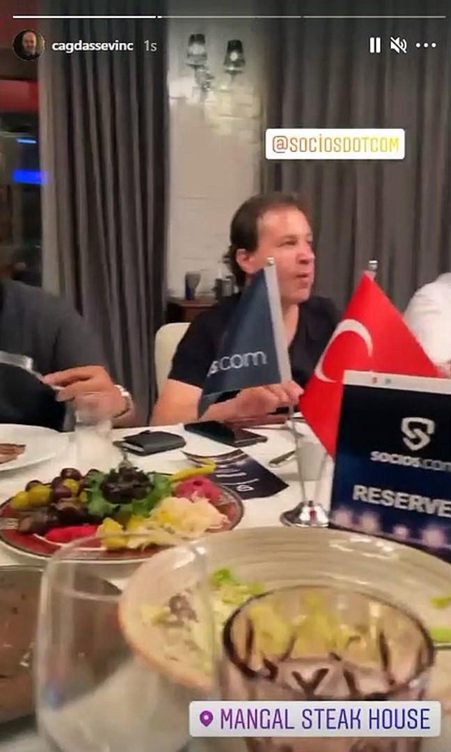 Galler maçı öncesi TFF imkanları ile verilen ''alevli'' yemek tepki çekti