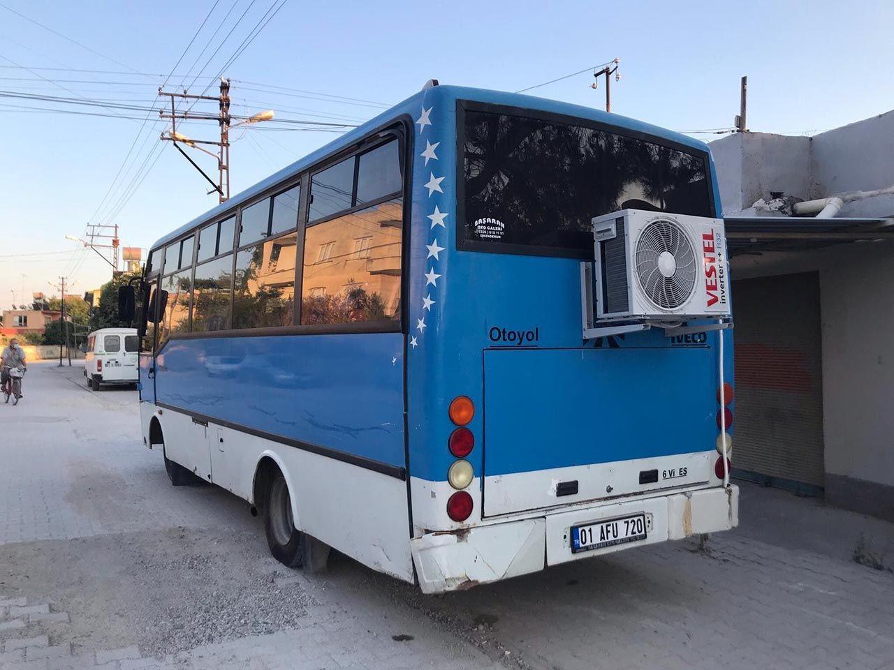 Bu otobüsü gören şaşıp kaldı! İçinde yok yok - Resim: 3