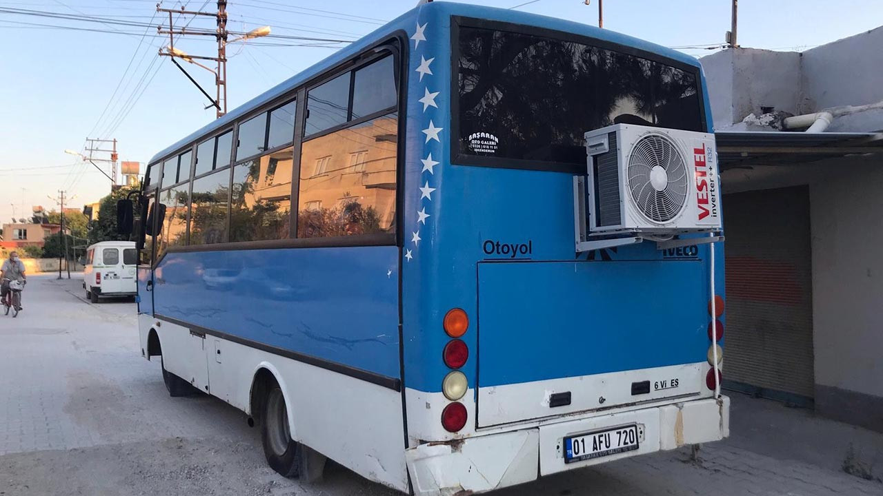 Bu otobüsü gören şaşıp kaldı! İçinde yok yok