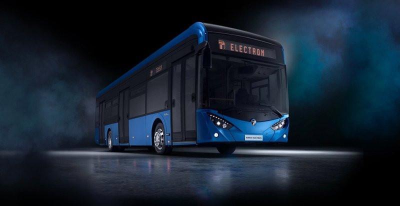 İşte Türkiye'nin ilk yerli elektrikli otobüsü