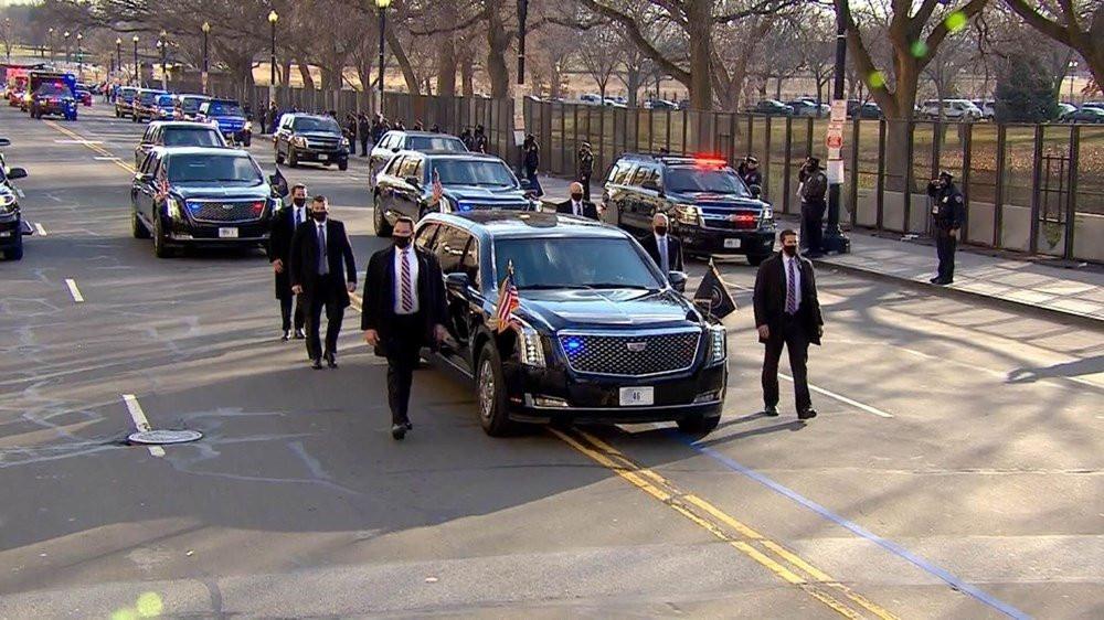 Biden'ın tekerlekli canavarı Cadillac One özellikleriyle otomobil sevdalılarının başını döndürdü