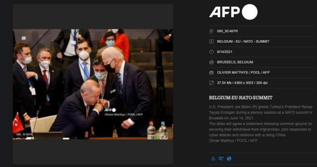 Batı medyası, Erdoğan ve Biden'ın tokalaştığı anları böyle çarpıttı - Resim: 3